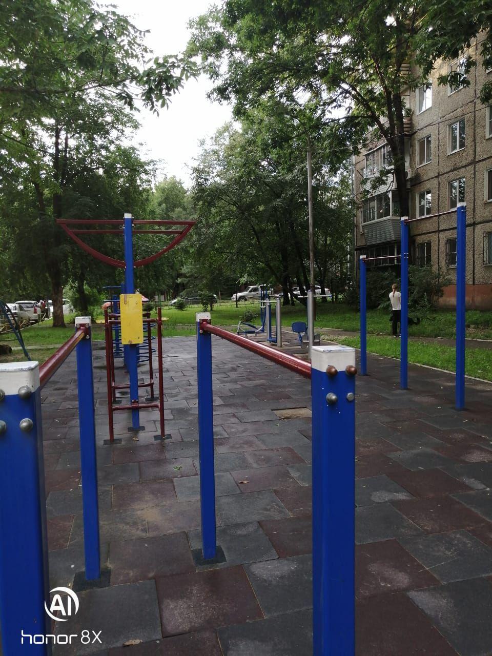 Khabarovsk - Calisthenics Gym - Трубный 8