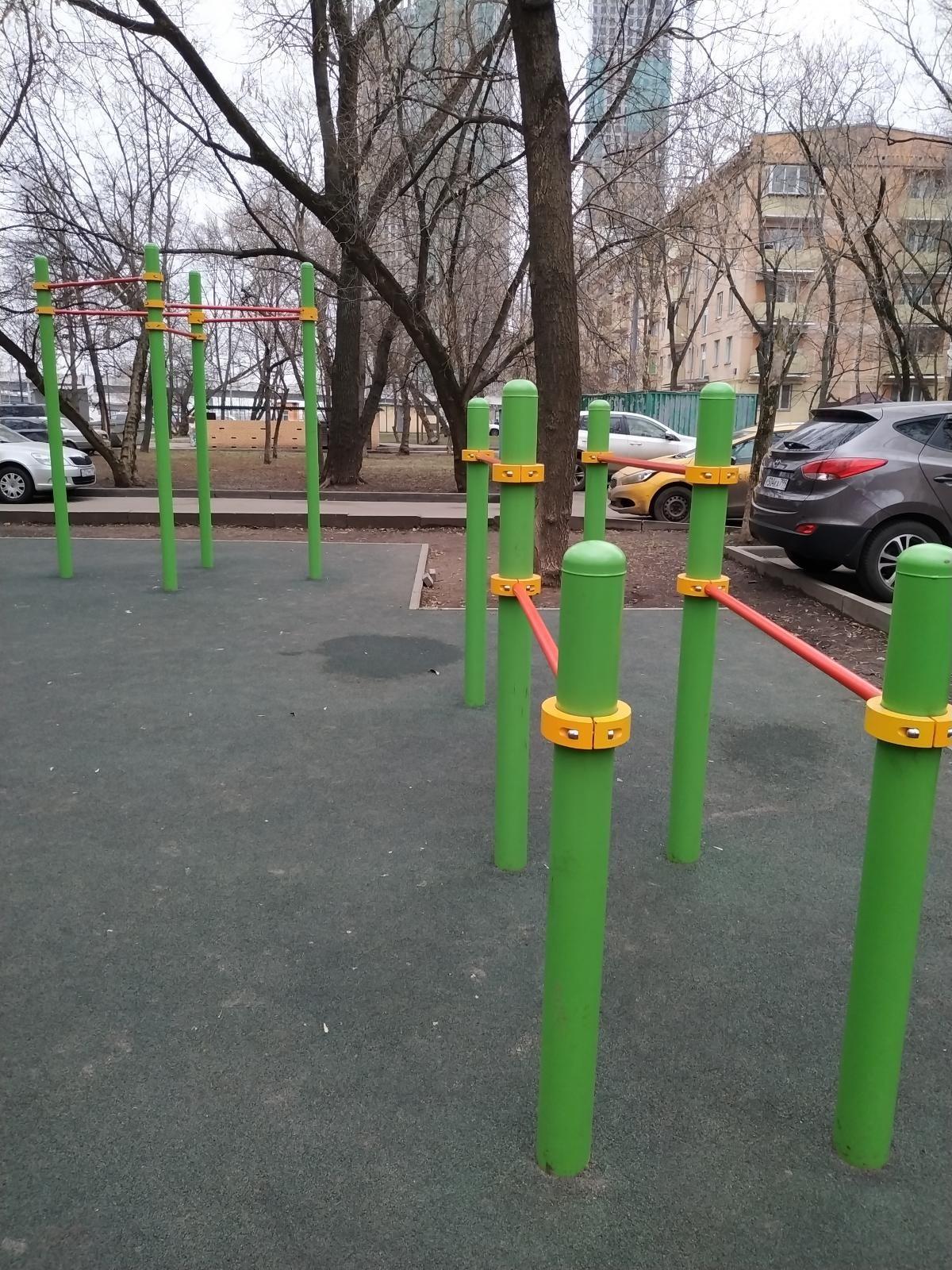 Moscow - Street Workout Park - Улица Народного Ополчения