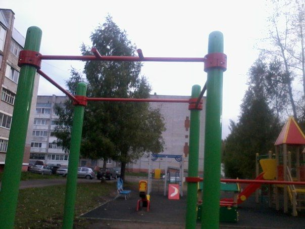 Solikamsk - Street Workout Park - ТЦ  Орбита