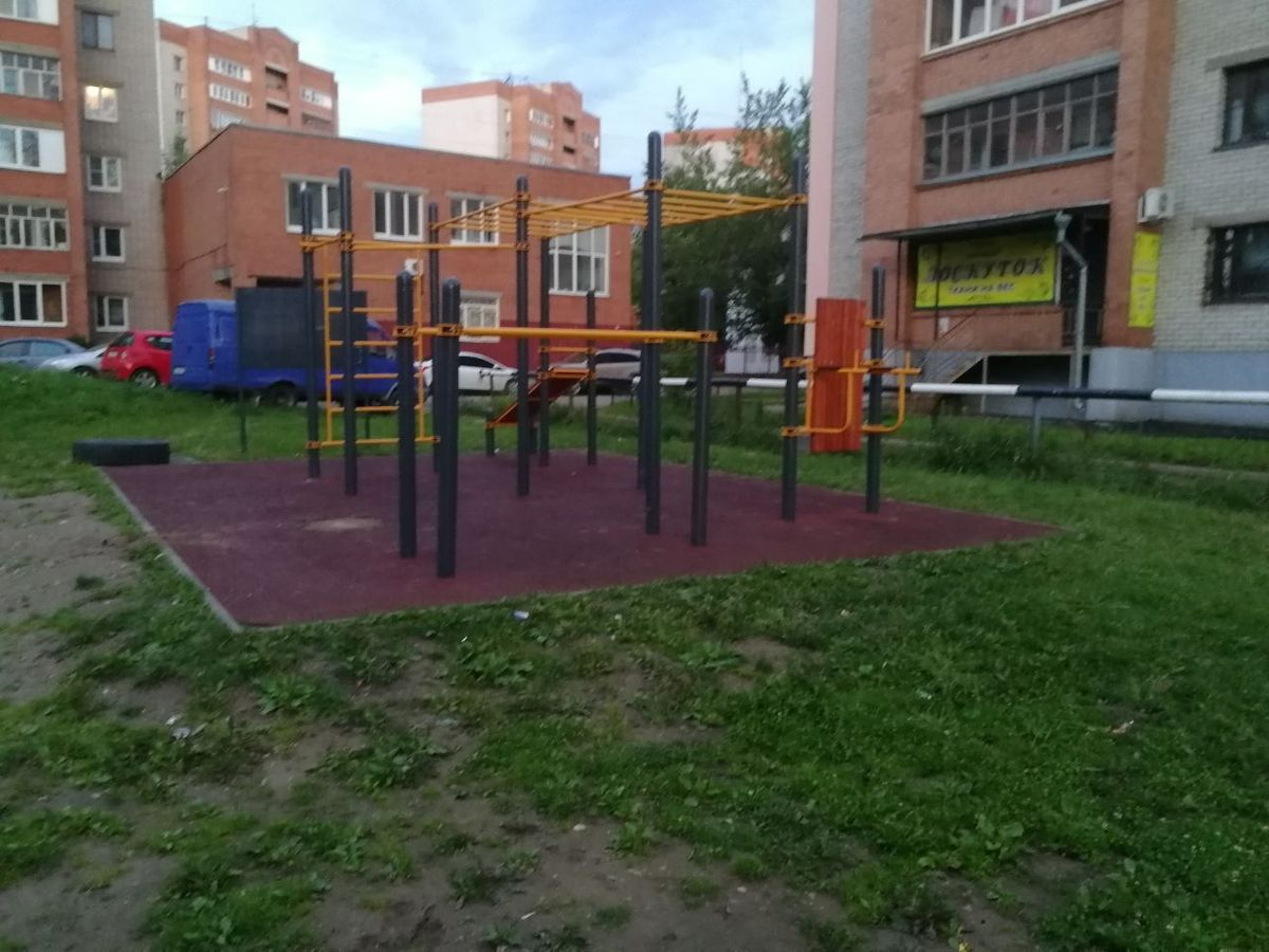 Yaroslavl - Street Workout Park - Клео