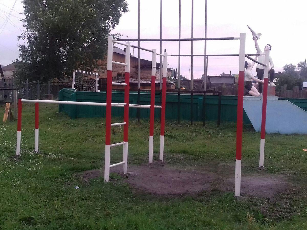 Uzhur - Calisthenics Park - 662253