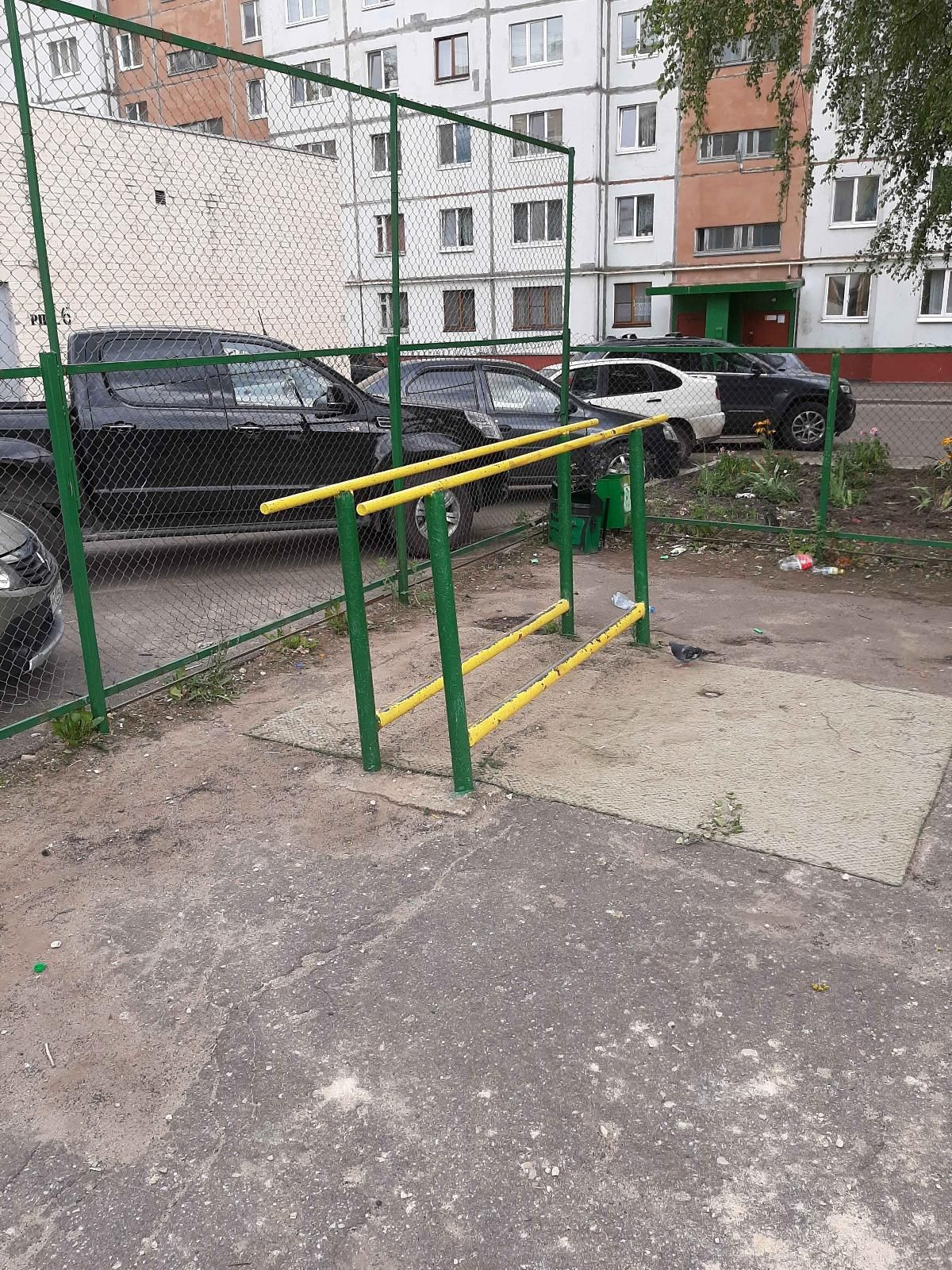 Oryol - Street Workout Park - Магнит