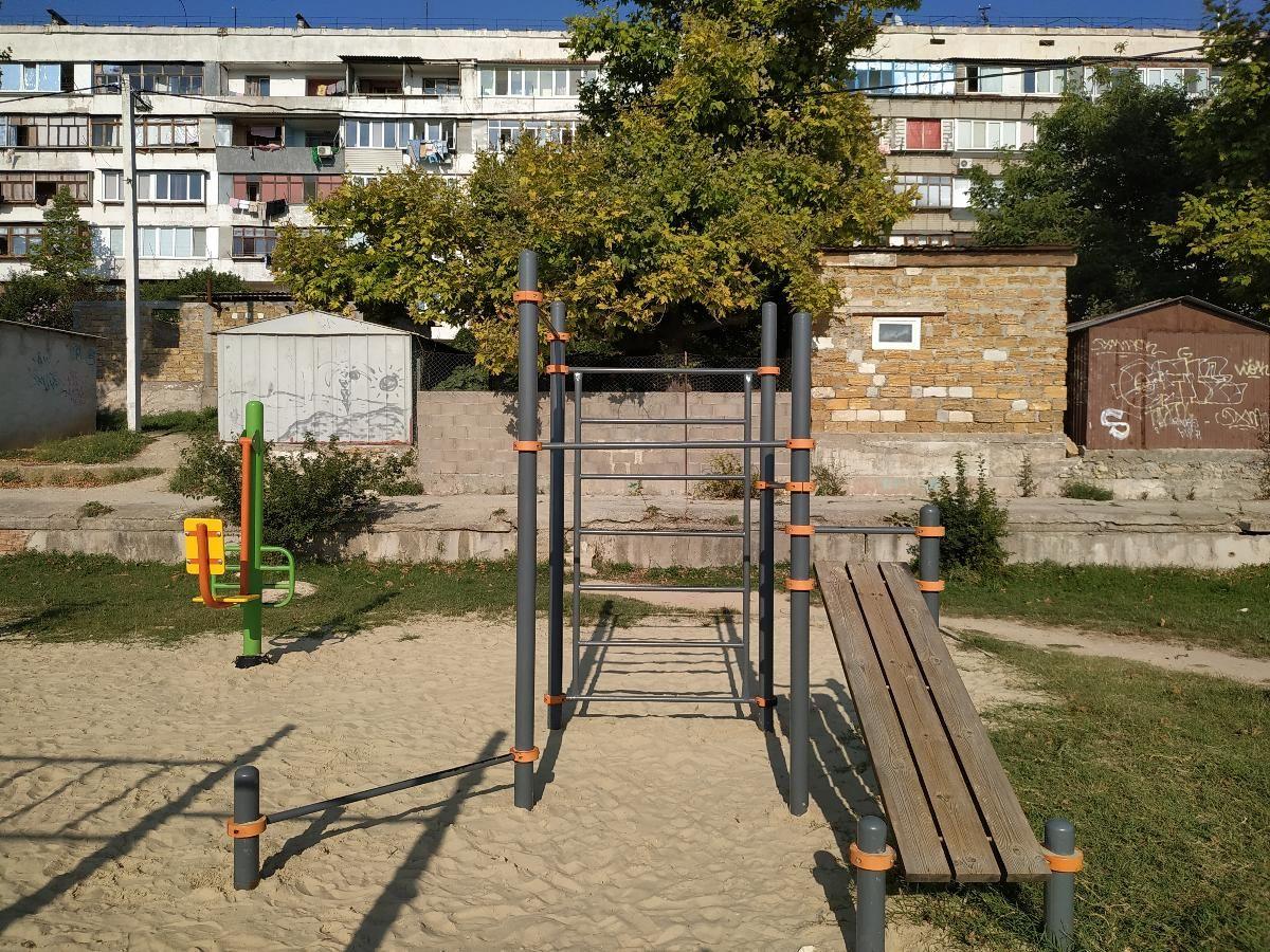 Crimean Peninsula - Outdoor Gym - Храм Святителя Филиппа