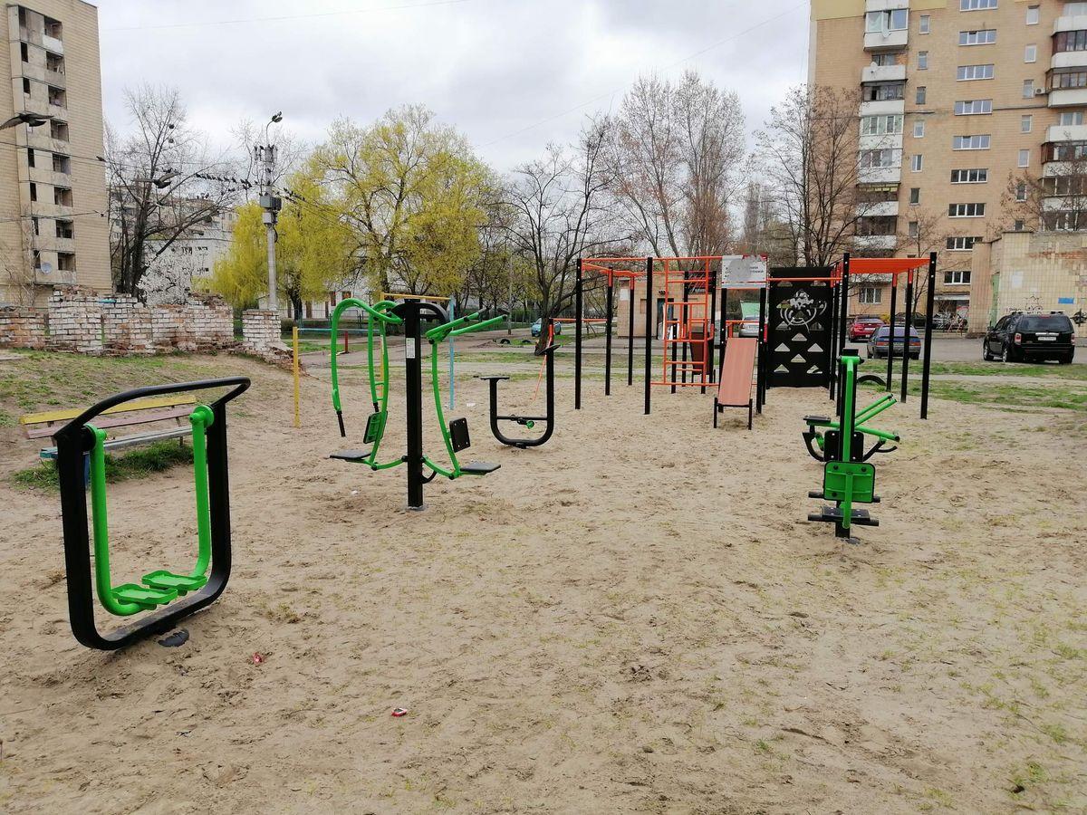 Kyiv - Street Workout Park - Synevo