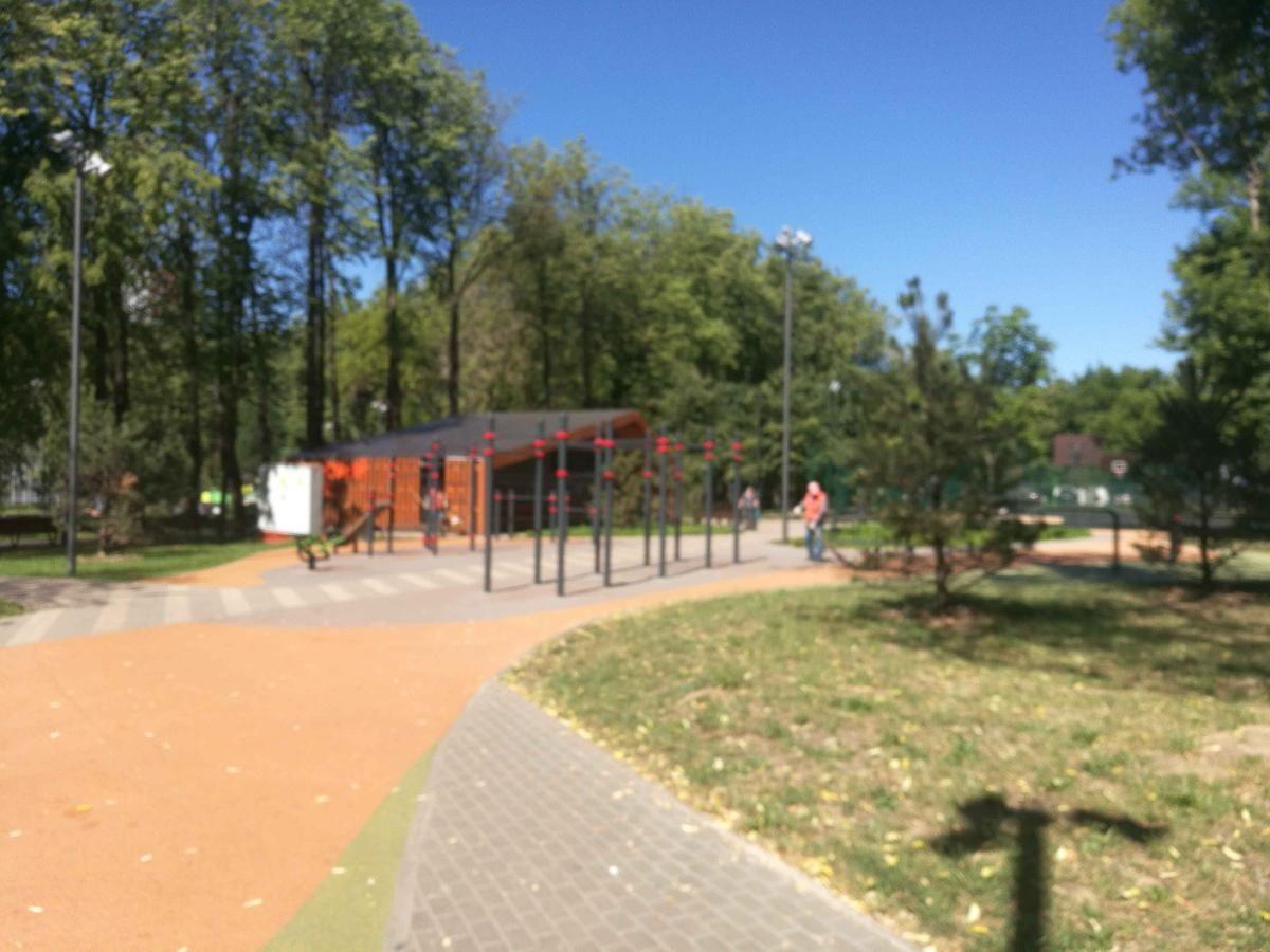 Moscow - Fitness Park - Липовый Парк