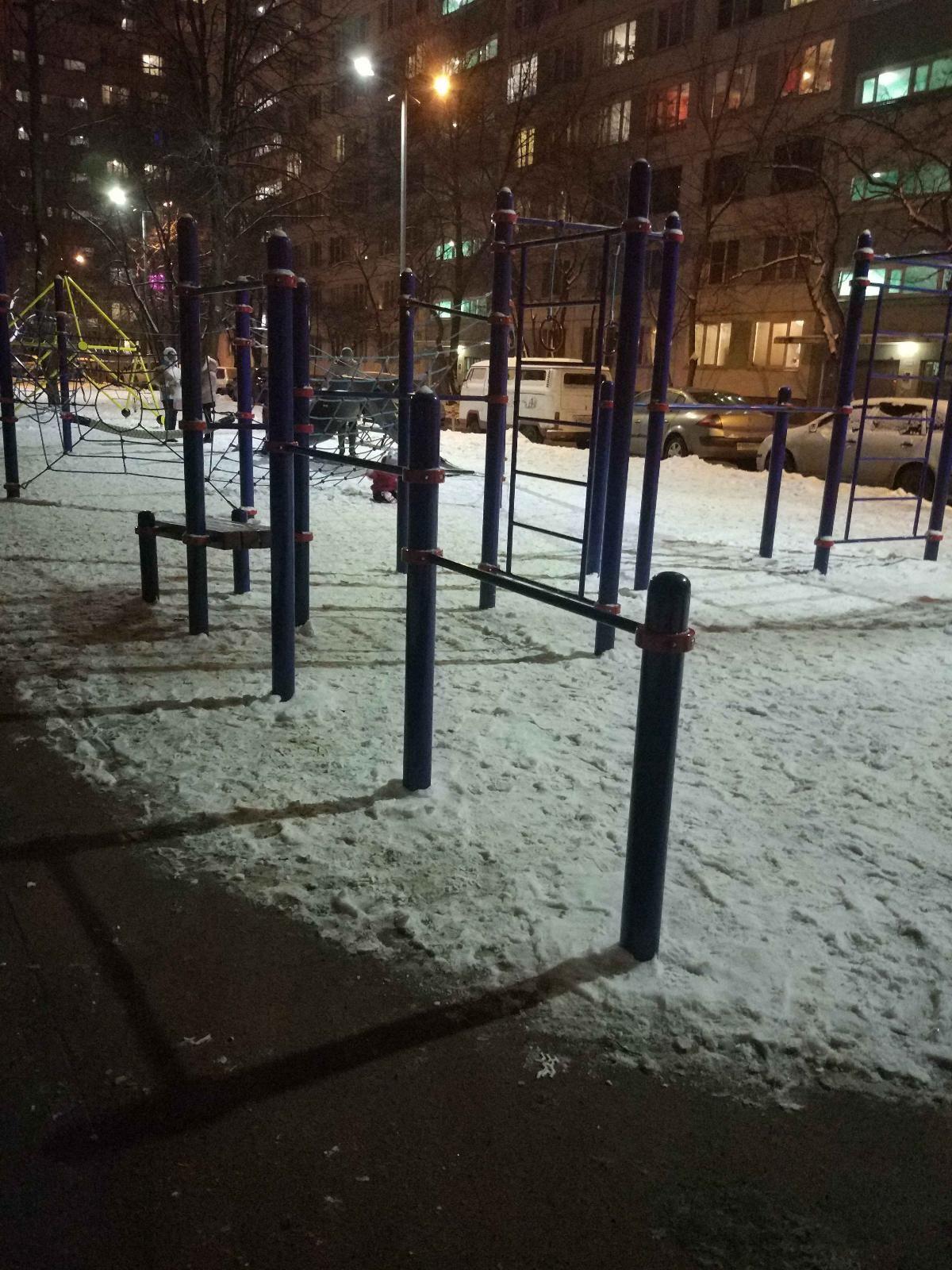 Saint Petersburg - Street Workout Park - Улица Вавиловых
