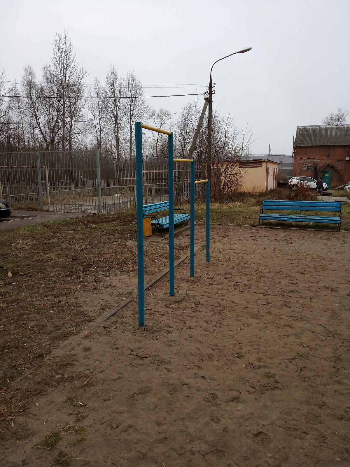 Yegoryevsk - Outdoor Gym - Ул Советская
