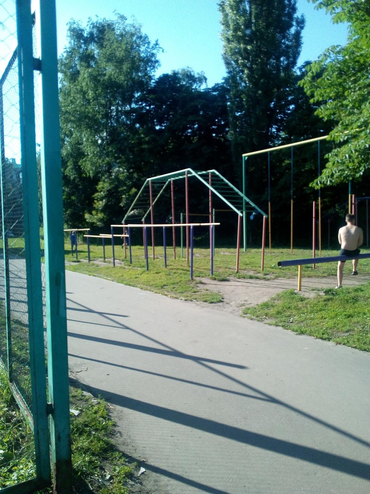 Kursk - Street Workout Park - Европа-1