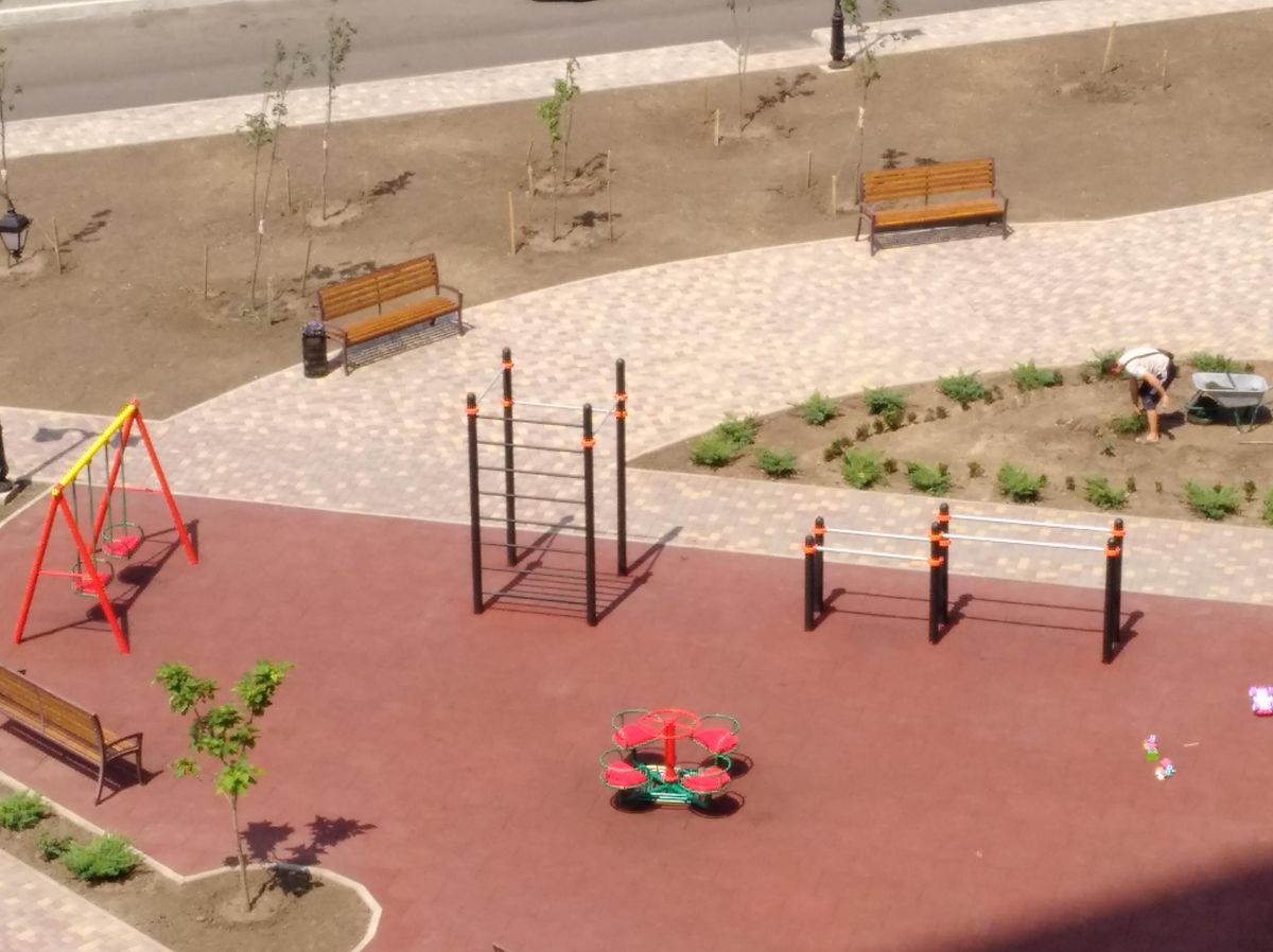 Odessa - Outdoor Gym - Инфоксводоканал Главное Управление