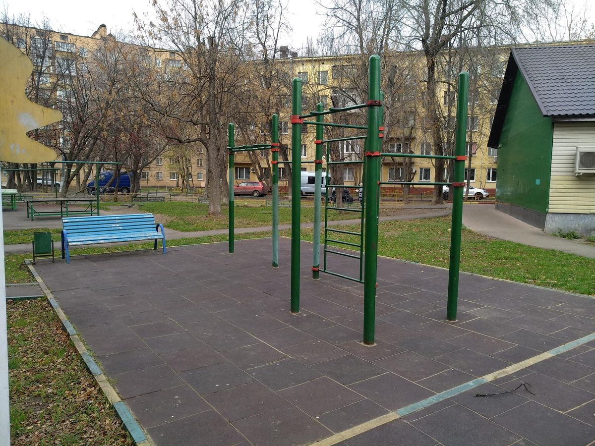 Moscow - Street Workout Park - Улица Степана Шутова