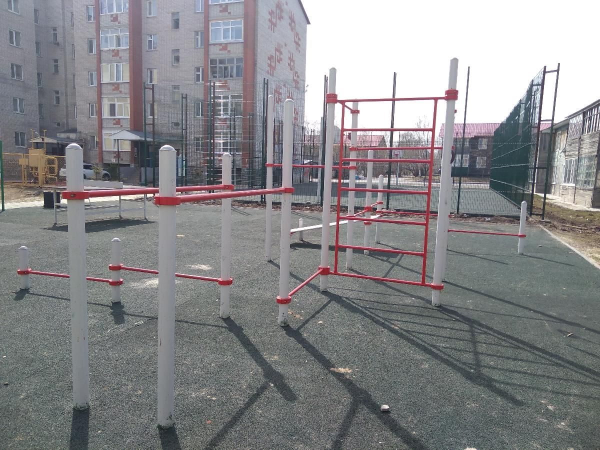 Khanty-Mansiysk - Fitness Park - Улица Чкалова