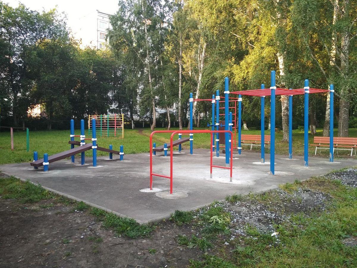 Kemerovo - Street Workout Park - ДХШ №19