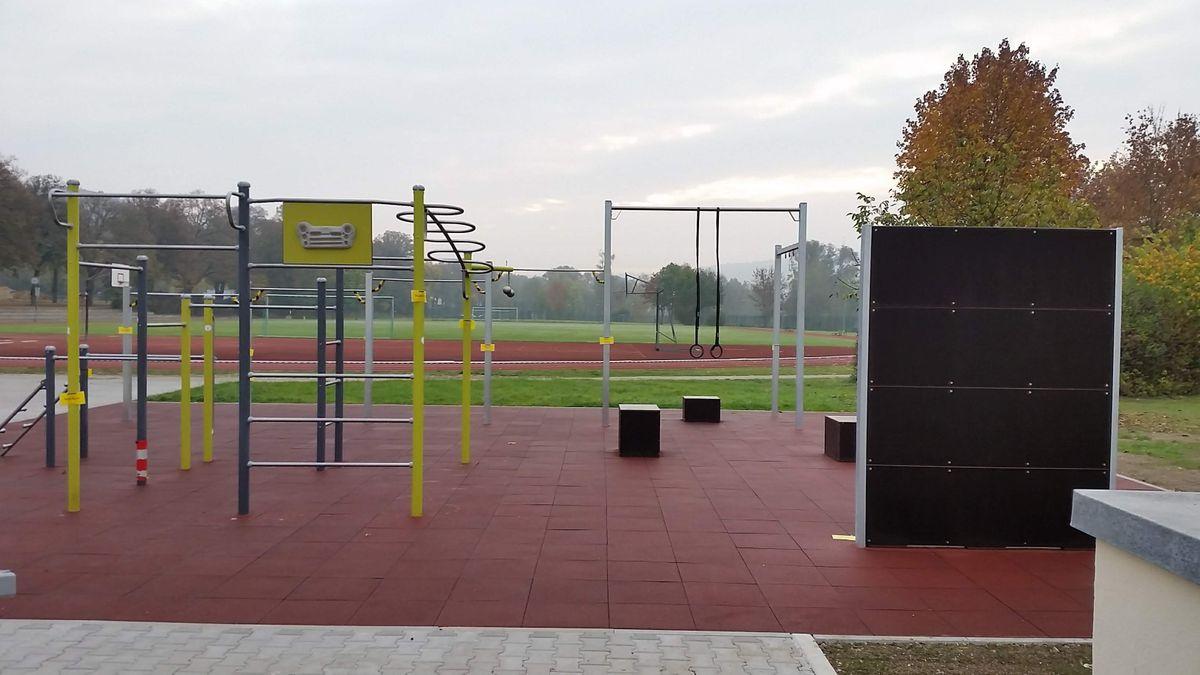 Eichstätt - Aire de Fitness - Lindenallee