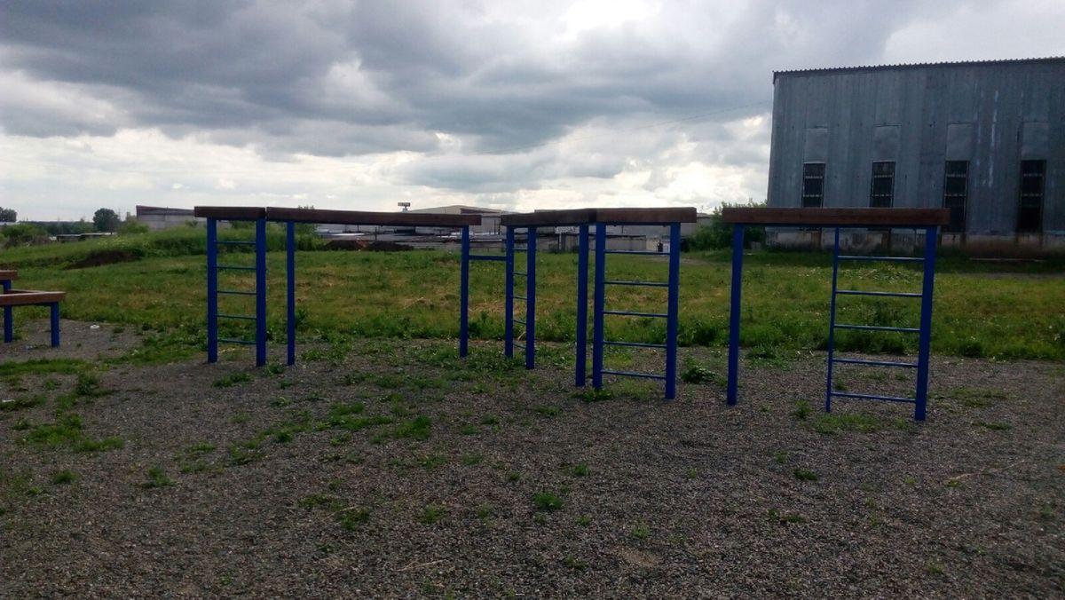 Kemerovo - Street Workout Park - Н2О