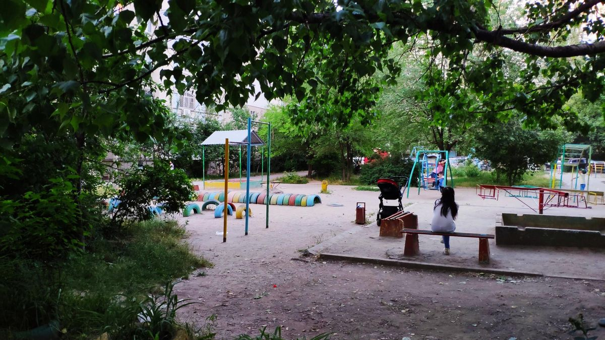 Bishkek - Street Workout Park - ДК / DK