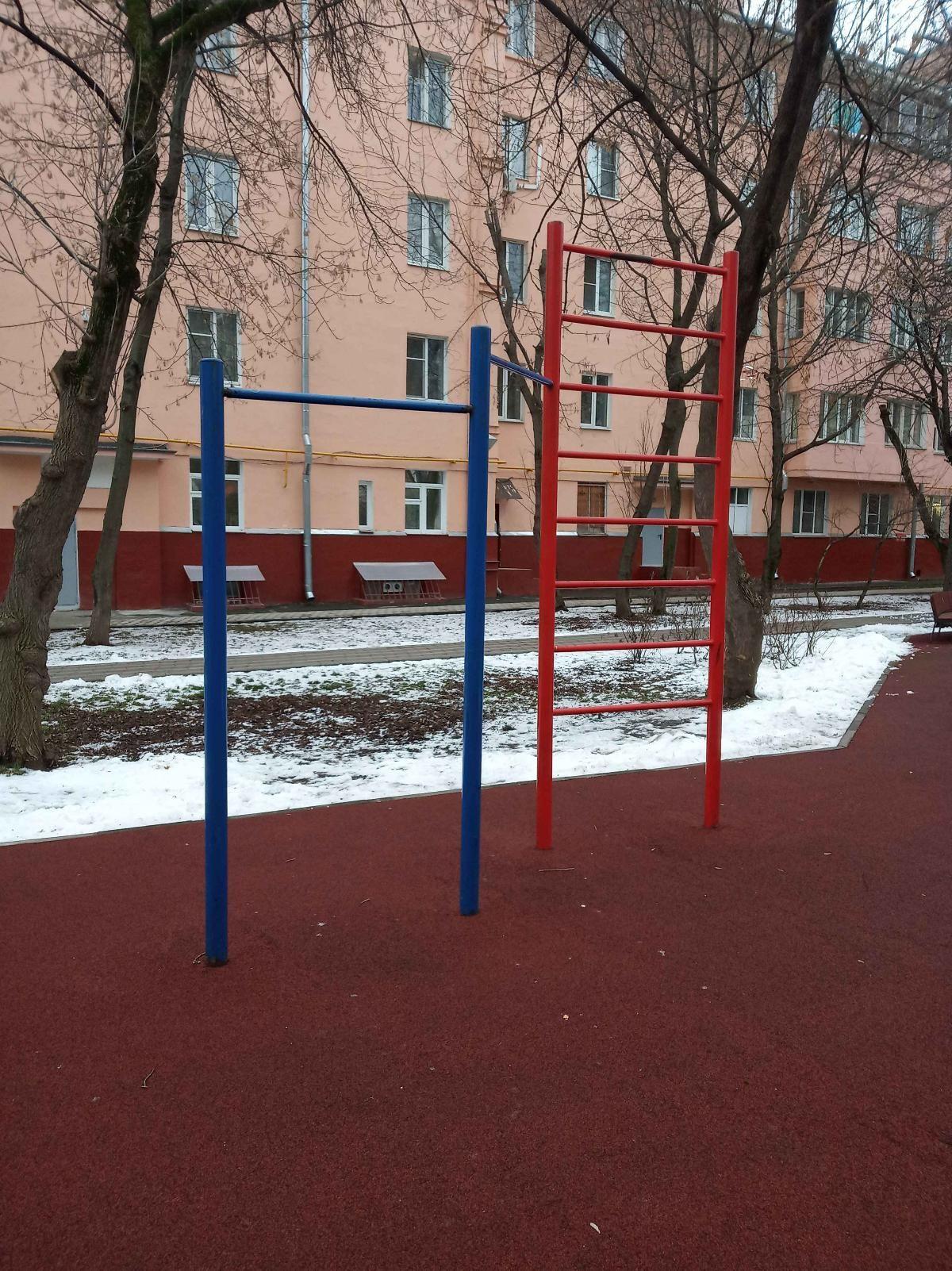 Moscow - Calisthenics Gym - metro Sportivnaya