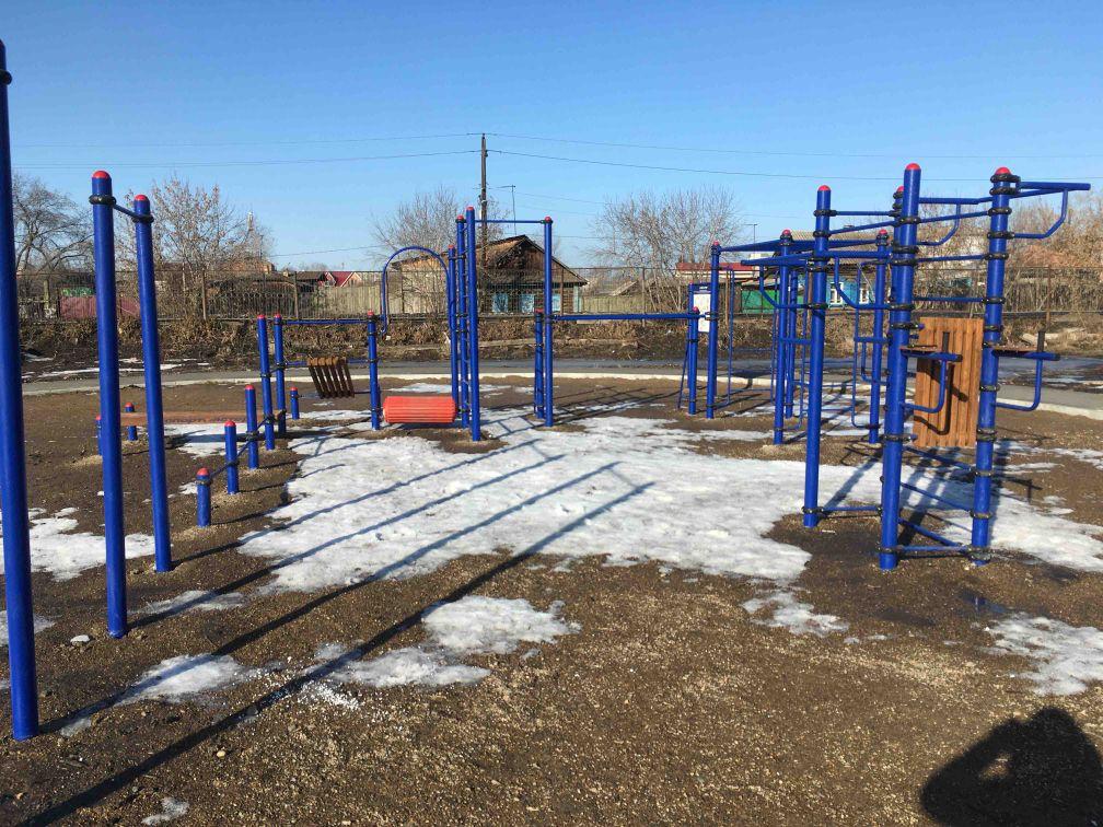 Kansk - Street Workout Park - 663600
