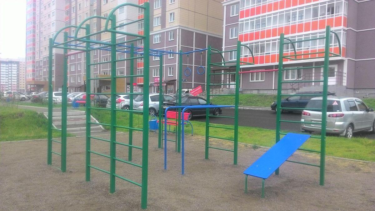 Krasnoyarsk - Calisthenics Gym - Оригами