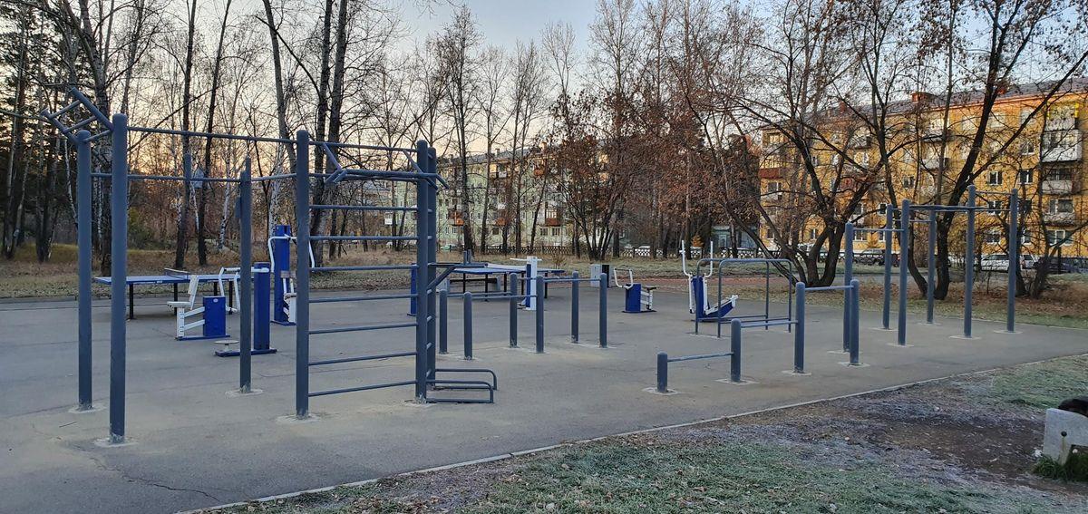 Angarsk - Calisthenics Park - Заправка Роснефть  Подсолнух