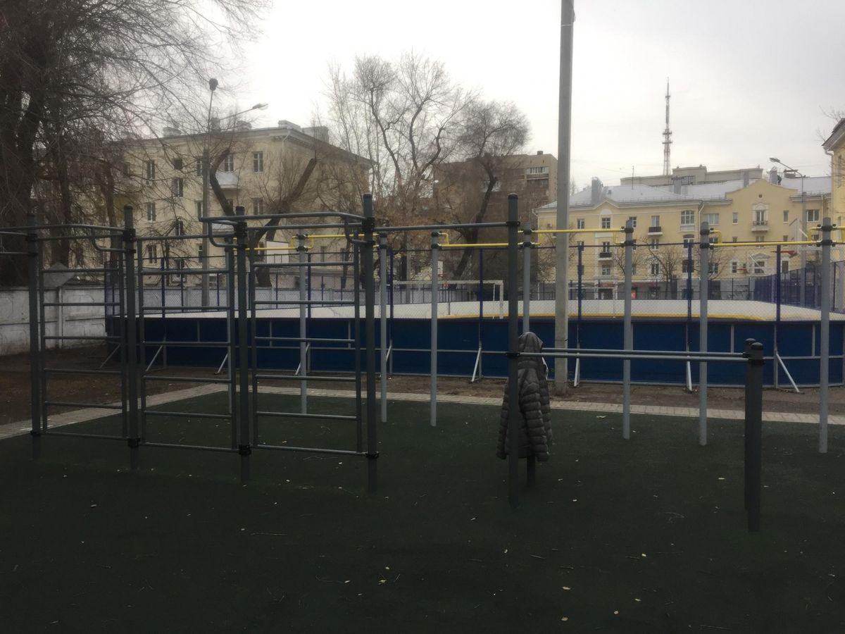 Voronezh - Street Workout Park - Школа №35