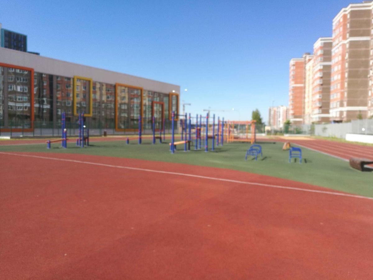Moscow - Street Workout Park - Ул Липовый Парк