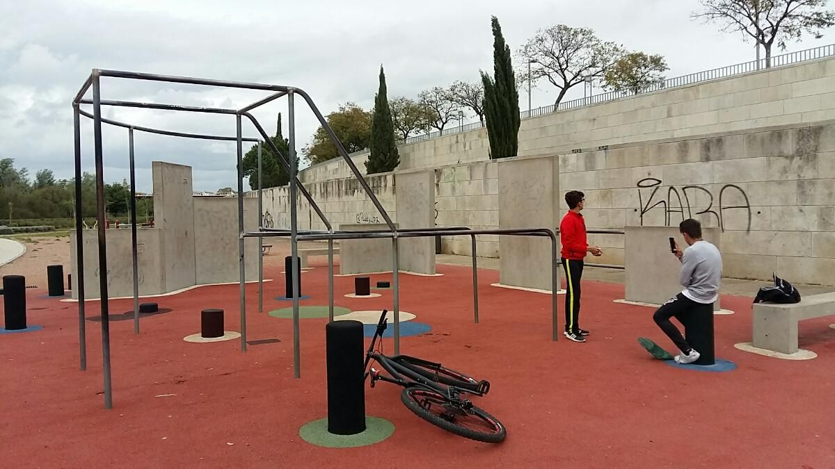Córdoba - Calisthenics Park - Calle Mantillo