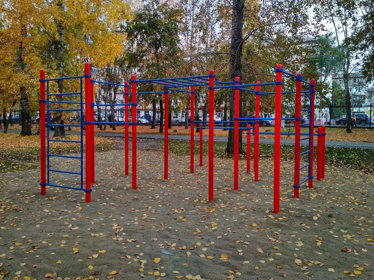 Kemerovo - Street Workout Park - Центр Охраны Зрения