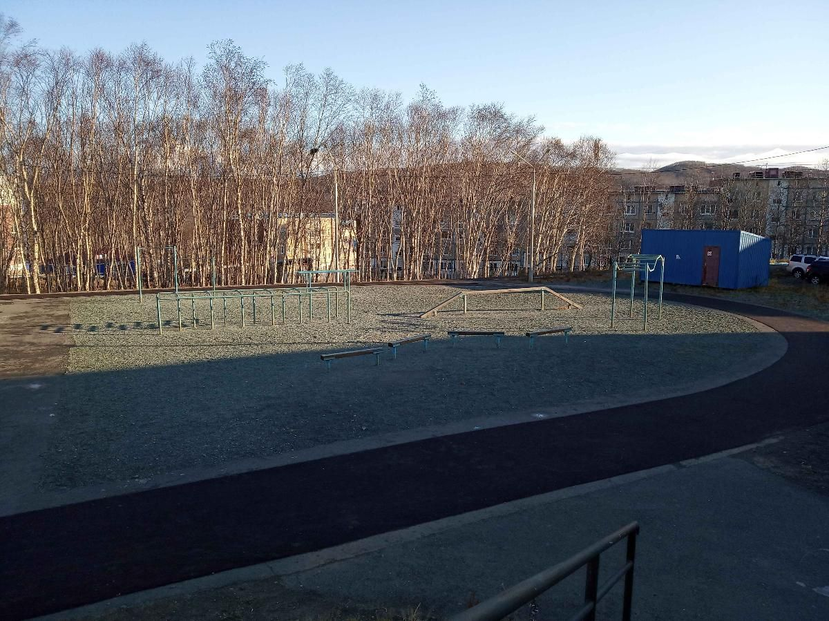 Petropavlovsk-Kamchatsky - Street Workout Park - Гимназия №39