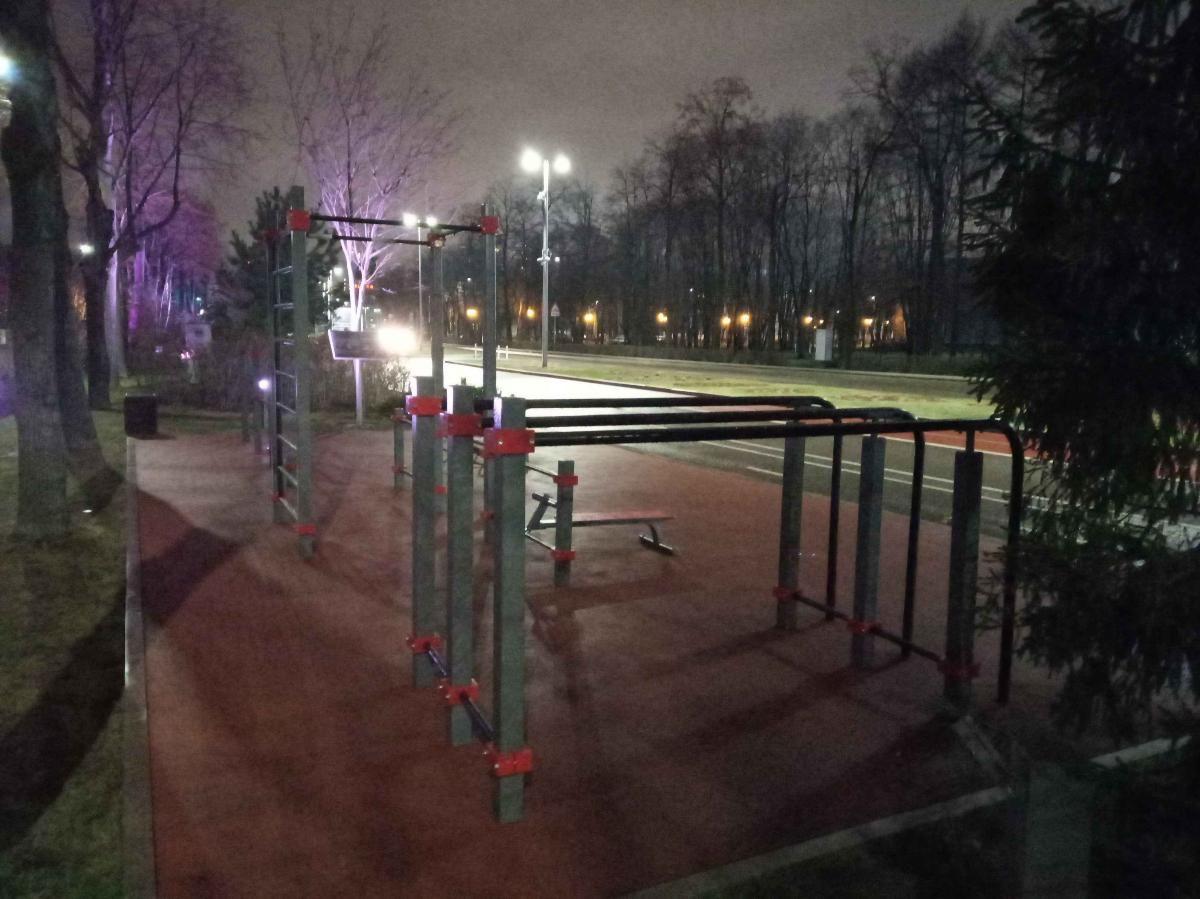 Moscow - Street Workout Park - Улица Лужники