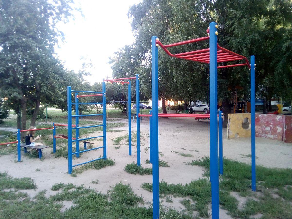Tambov - Aire de Fitness - Renault Тамбов