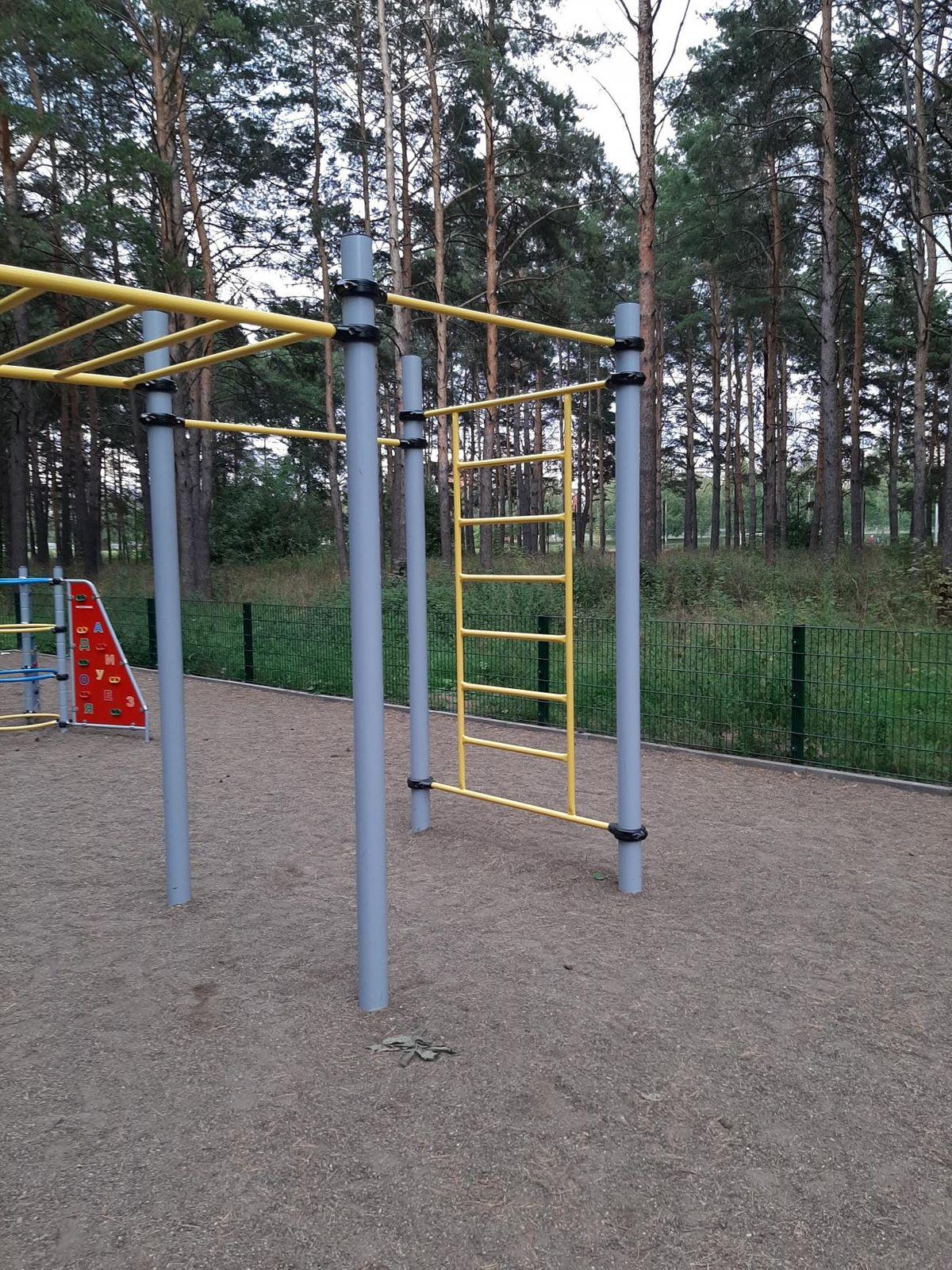 Naberezhnye Chelny - Calisthenics Park - Остановка «Лесная»