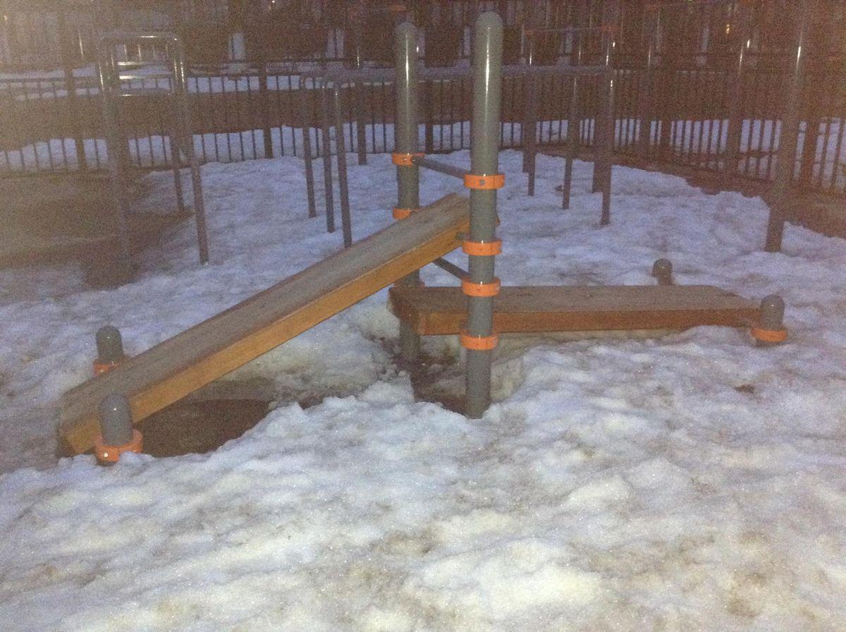 Solikamsk - Street Workout Park - 618547
