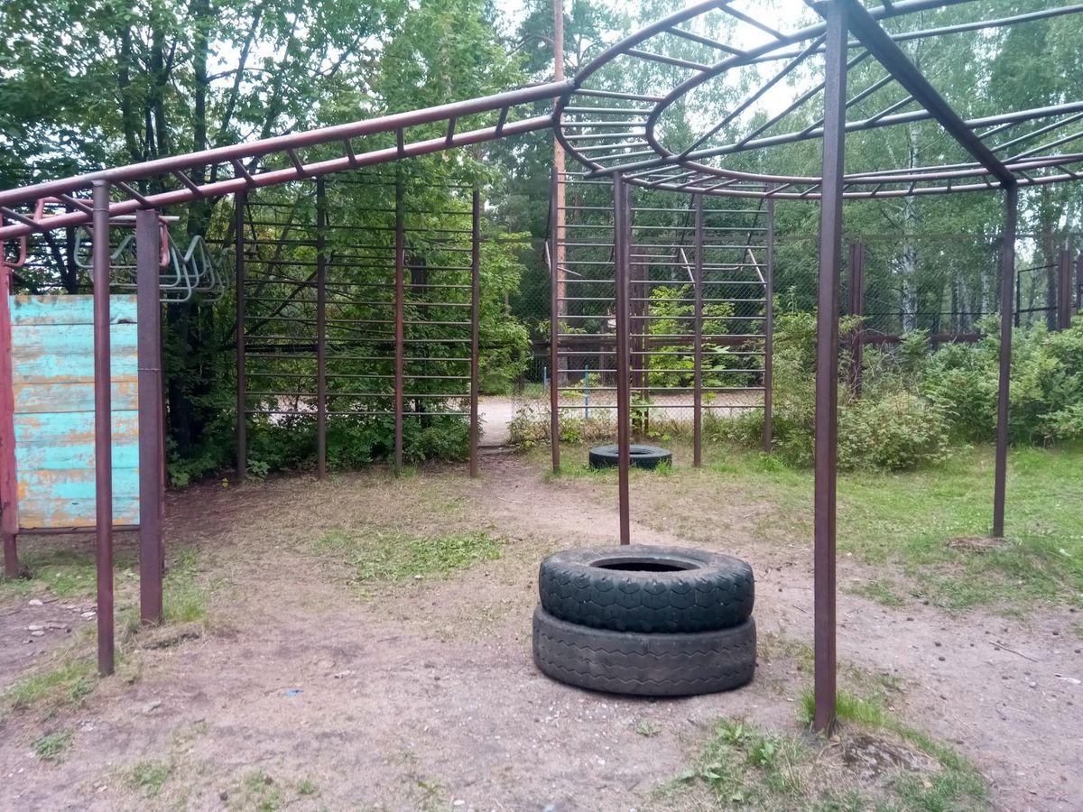 Saint Petersburg - Street Workout Park - Корты На Круговой