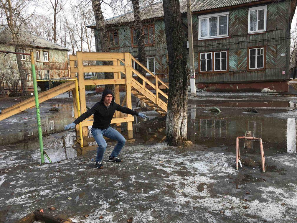 Usolye-Sibirskoye - Calisthenics Gym - 665459