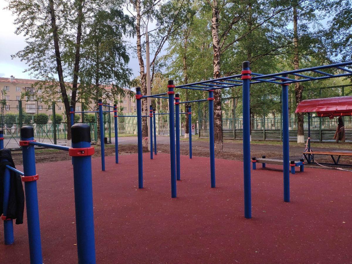 Cherepovets - Outdoor Gym - Стадион Металлург