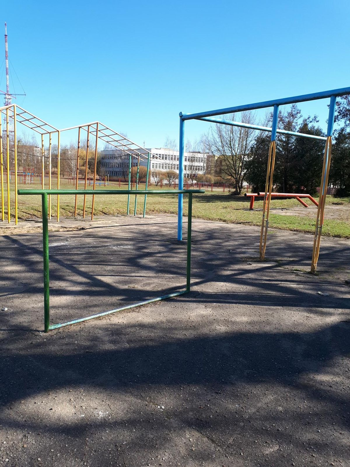 Grodno - Street Workout Park - Улица Курчатова