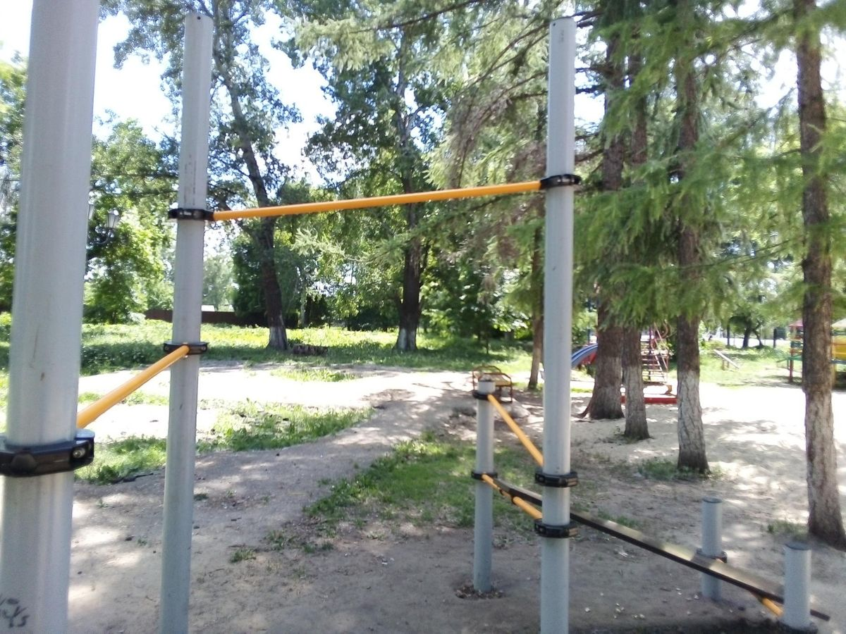 Morshansk - Calisthenics Park - Sberbank of Russia