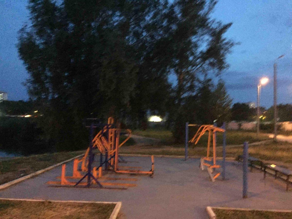 Nizhny Novgorod - Outdoor Gym - ФОК  Северная Звезда