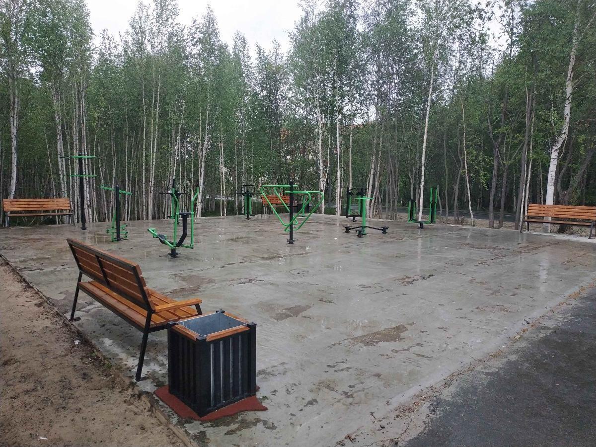 Pyt-Yakh - Street Workout Park - Ул Парковая