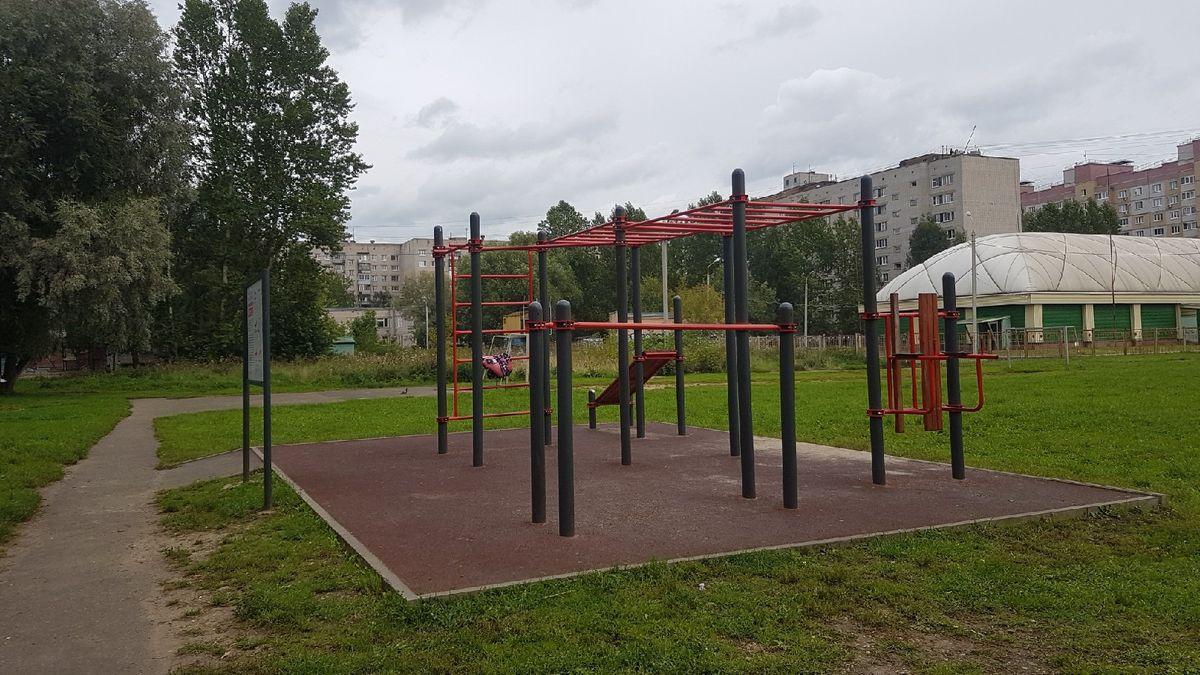 Yaroslavl - Street Workout Park - Alex Fitness