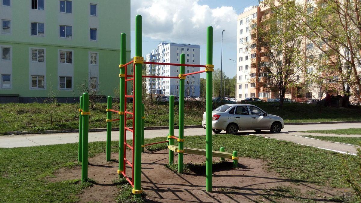 Zhigulevsk - Aire de Fitness - 445359