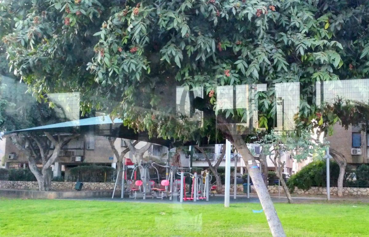 Tel Aviv - Street Workout Park - Tennis Centre / המרכז לטניס