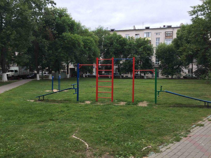 Nizhny Novgorod - Outdoor Gym - Subaru Club
