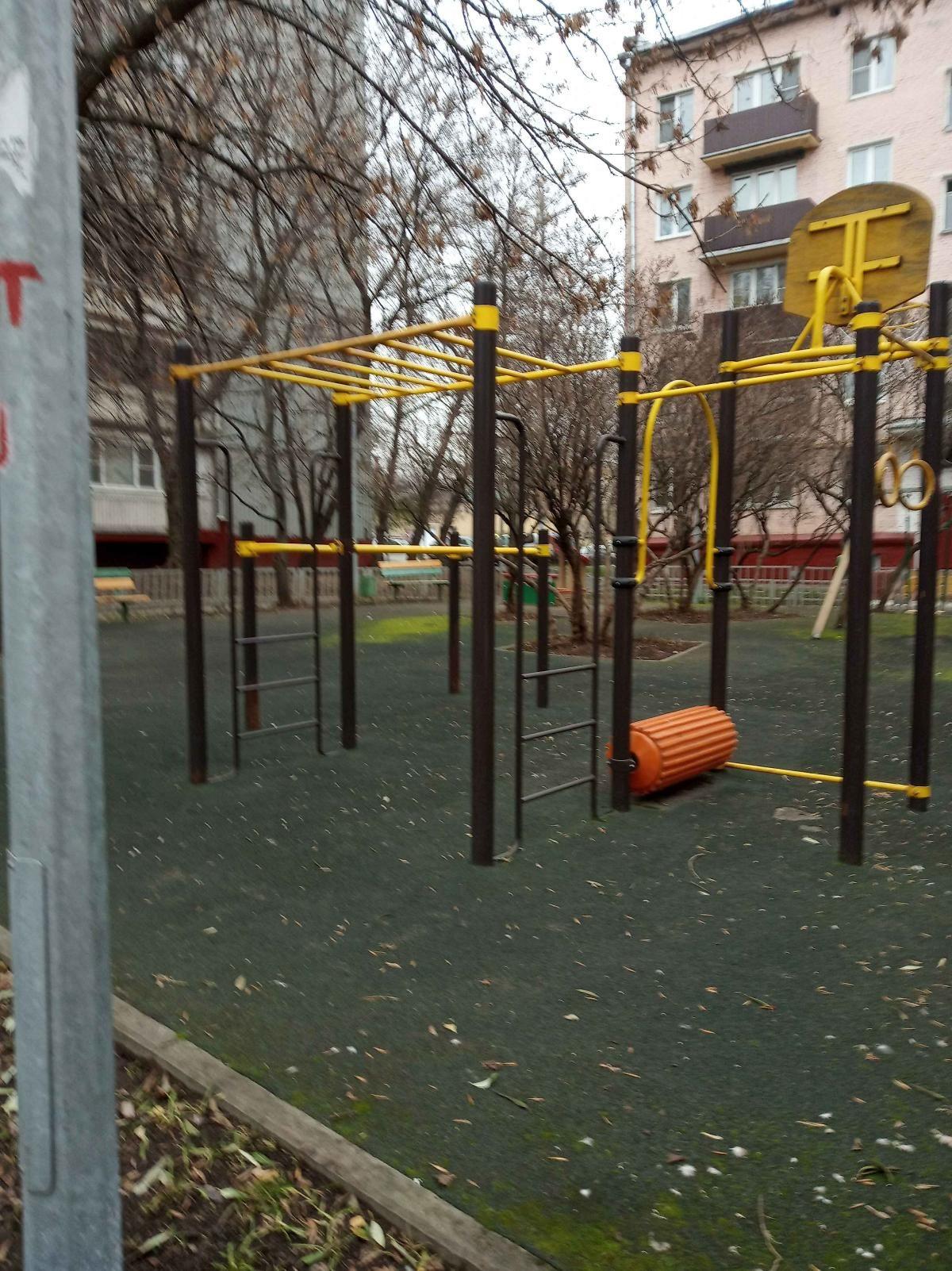 Moscow - Calisthenics Park - Волоколамское Шоссе