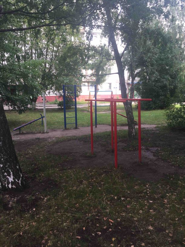 Nizhny Novgorod - Street Workout Park - Бавария