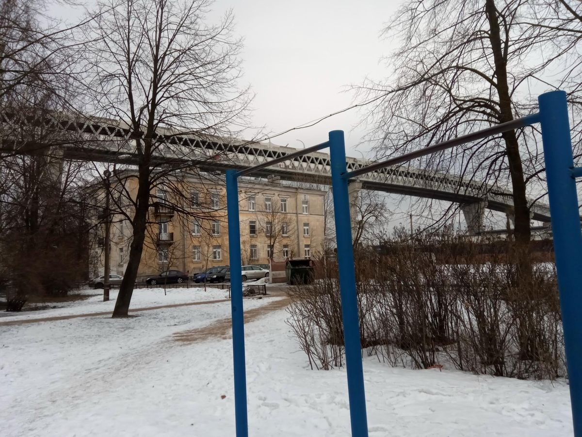 Saint Petersburg - Aire de Fitness - Канонерский Остров