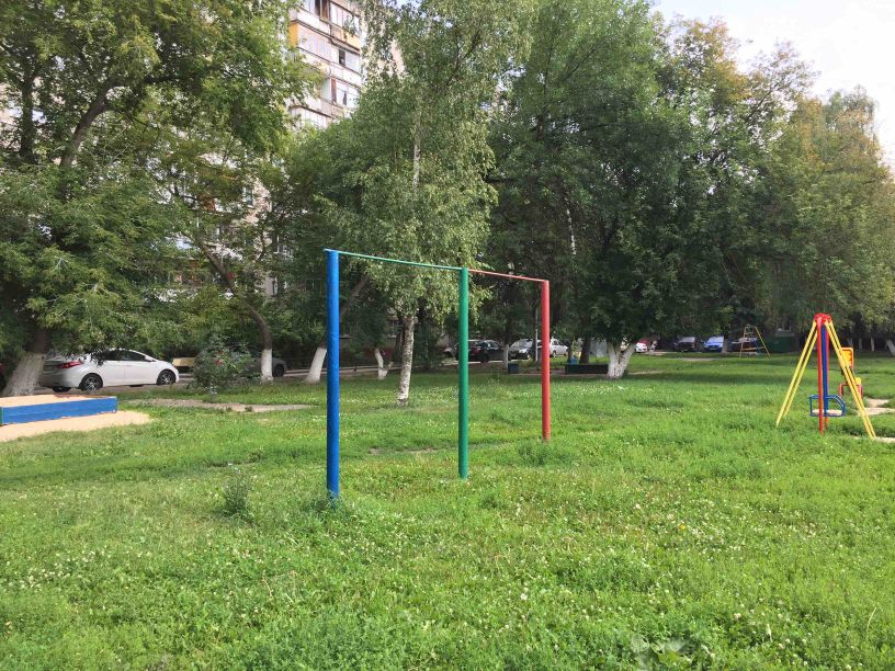 Nizhny Novgorod - Street Workout Park - Поликлиника 24