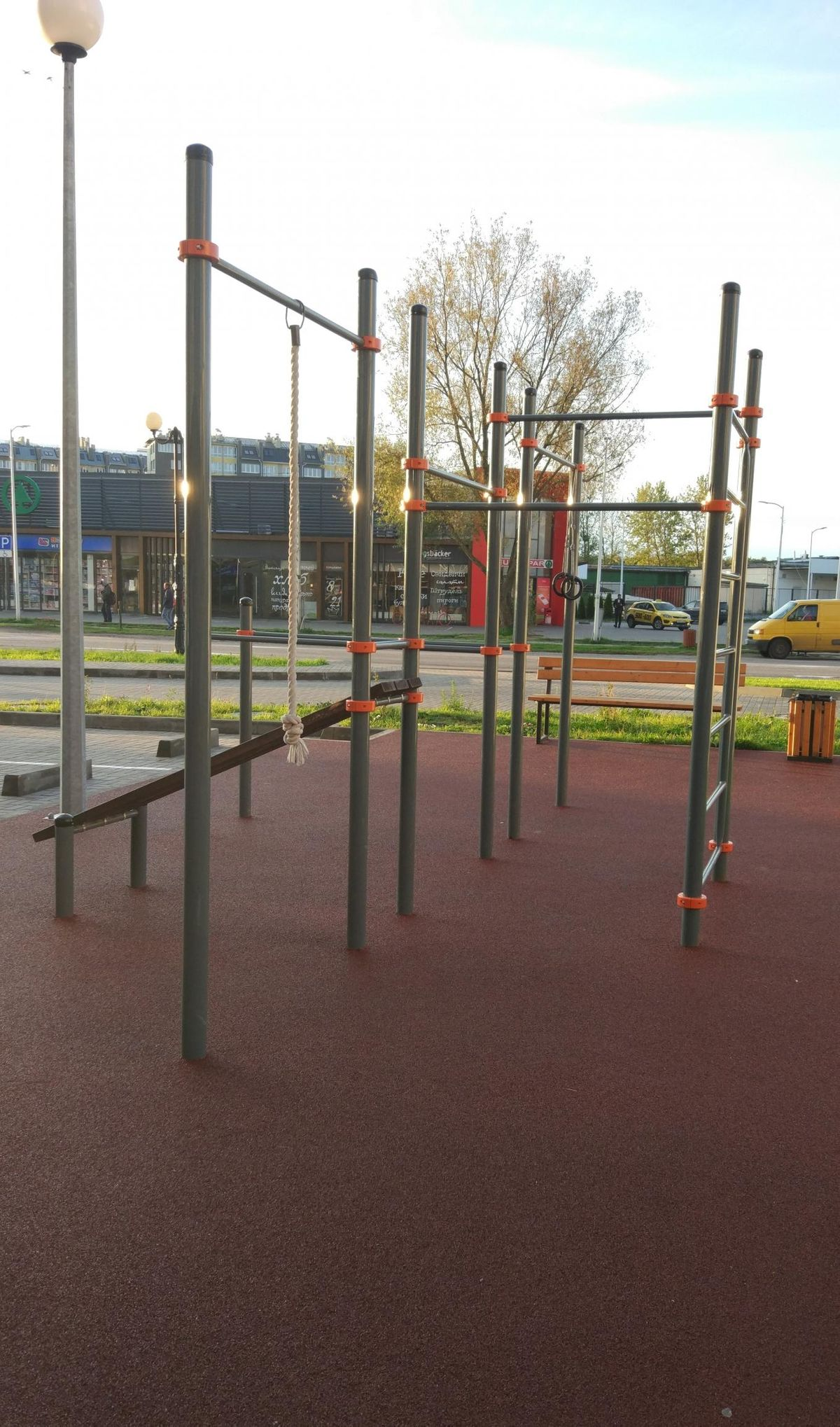 Zelenogradsk - Street Workout Park - Königsbäcker