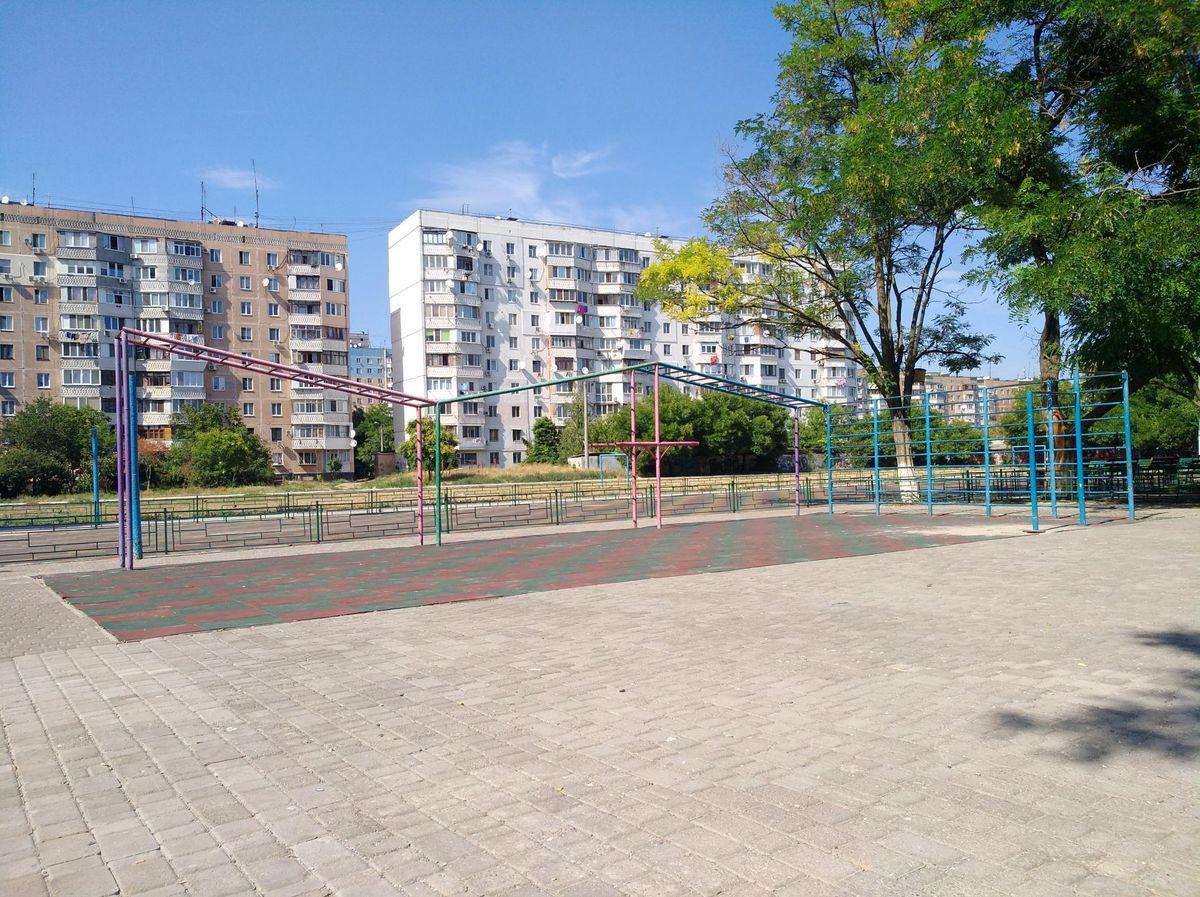 Odessa - Calisthenics Park - Форт