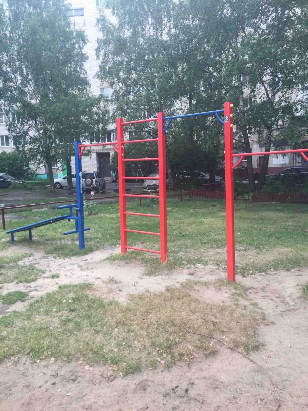 Nizhny Novgorod - Street Workout Park - Sberbank of Russia